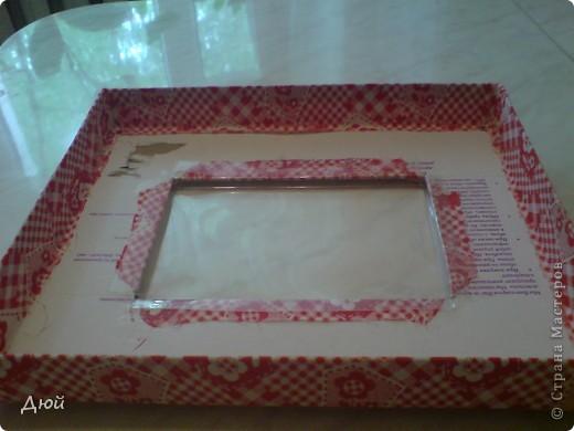 Вот такая шкатулка для рукоделия может получится из обычной обувной коробки. фото 4