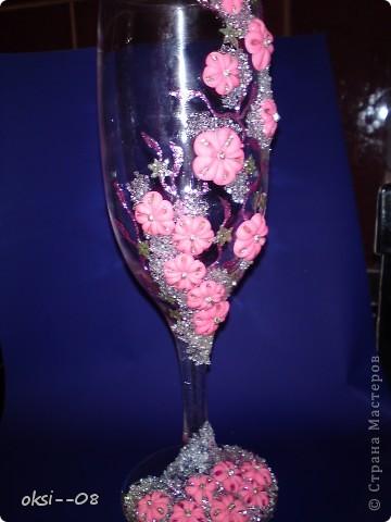 """бокальчик """" Розовые мечты"""" фото 6"""