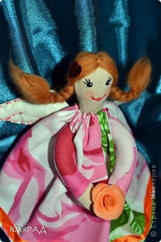 Такая малышка у меня получилась))) Сделала для подружки доченьки))) В крылышки добавила немного ванилина............теперь её хочется съесть))) фото 3