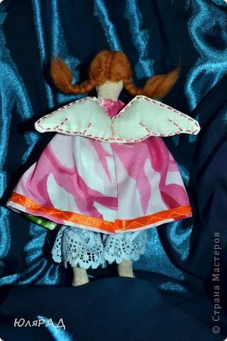 Такая малышка у меня получилась))) Сделала для подружки доченьки))) В крылышки добавила немного ванилина............теперь её хочется съесть))) фото 4