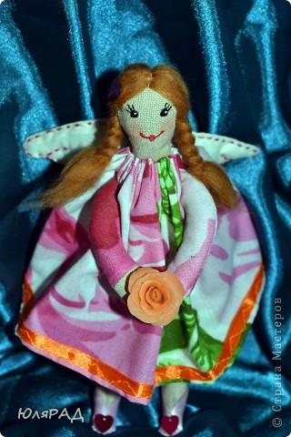 Такая малышка у меня получилась))) Сделала для подружки доченьки))) В крылышки добавила немного ванилина............теперь её хочется съесть))) фото 5