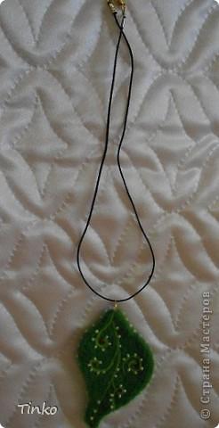 Любимые шерстяные бусики. Легкие, почти невесомые. фото 4