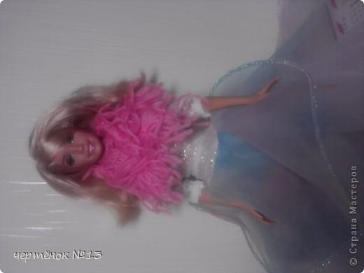 вот такой бактус для куклю я связала фото 1