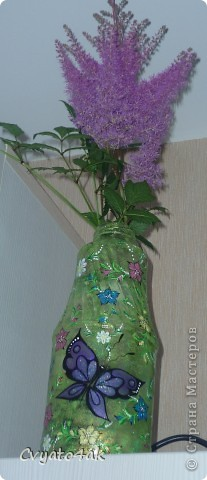 Тюнинг бутылки от гранатового сока) фото 4