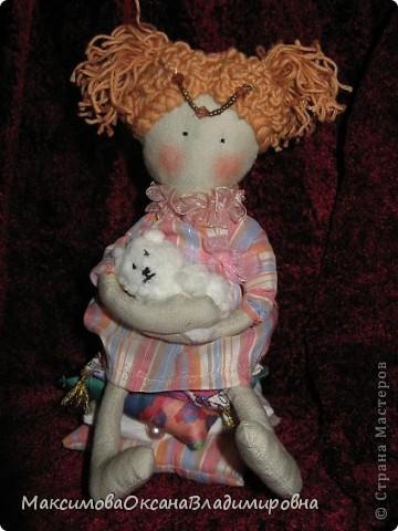 Моя первая куколка появилась на свет!    фото 1