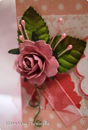 Здравствуйте жители СМ. Предлагаю вашему вниманию ещё одну Свадебную открытку, форму подсмотрела у Аскины http://stranamasterov.ru/node/159804?c=favorite.  фото 5