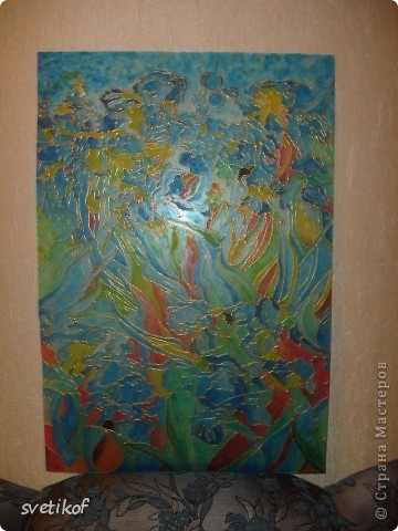 Роспись по стеклу фото 3