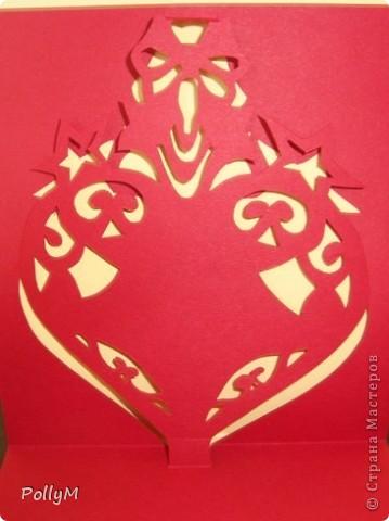 Эти сердечки придумал Claus Johansen, а я их сделала в технике pop-up фото 2