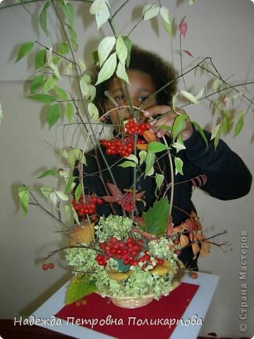 """Морозова Анна- моя ученица. """"Букет цветов"""". фото 3"""