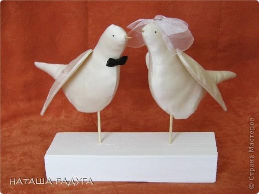 Свадебные голуби фото 2