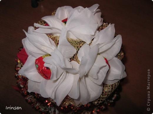 Конфетный тортик фото 3