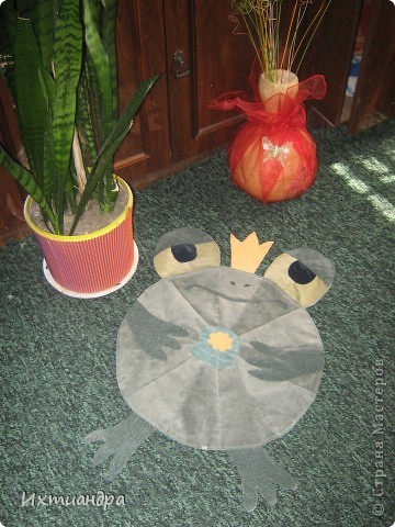 Косолапый мишка. Коврик или панно? )) фото 7