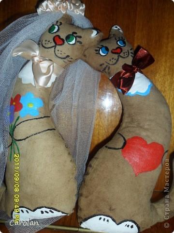 Коты в подарок на свадьбу подруге фото 3