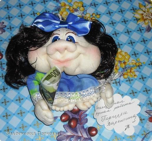 В воскресенье была на Дне Рождении любимой подруги-Верочки!Подарила ей куколку!Знаю-любит она моих куклёшек)))Это именниница с подарком! фото 4