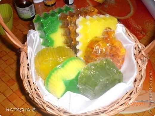 Моё мылко. Мятно-лимонное, медовое, дыневое, апельсин с календулой, апельсиновое, огуречное.