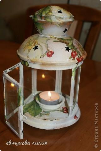 Этот фонарик был сделан для моей мамы, ей очень понравился,эти фотографии её рук дело. фото 2