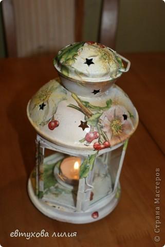 Этот фонарик был сделан для моей мамы, ей очень понравился,эти фотографии её рук дело. фото 3