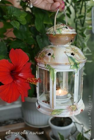 Этот фонарик был сделан для моей мамы, ей очень понравился,эти фотографии её рук дело. фото 4