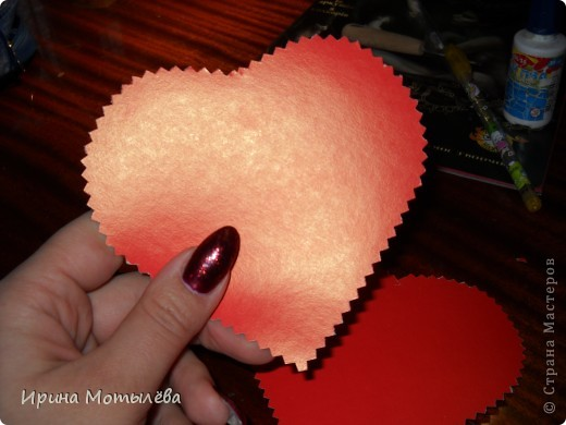 валентинка небольшой мк фото 4