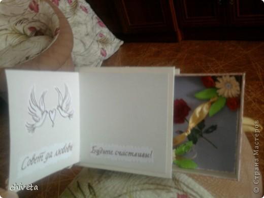 Коробочка для денег и открытка фото 2