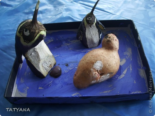 Дом и машина для картофельного человечка фото 3