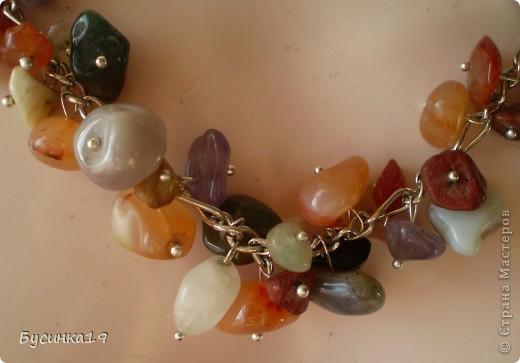 Переделка бус с натуральных камней. фото 2