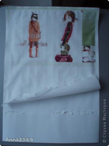 Как печатать на салфетке (для декупажа) фото 3