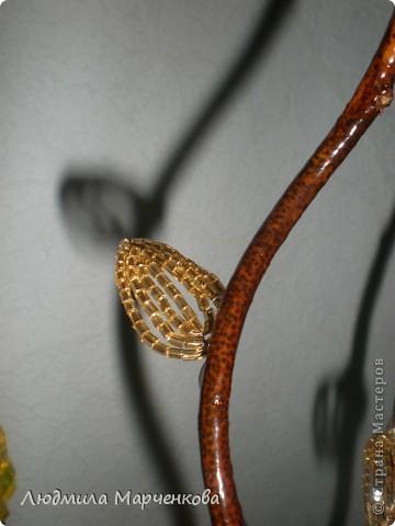 цветы - шарики из ниток фото 10