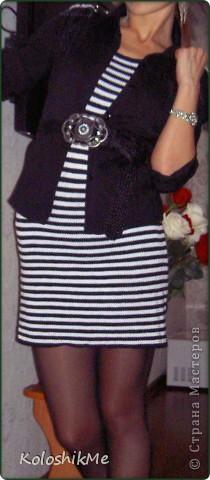 Как-то захотела себе платье-тельняшку, обошла не мало магазинов в поисках желаемого, но они (поиски) не обвенчались успехом... Моё желание обладать таким платьем было настолько велико, что я не могла сдаться просто так. фото 6