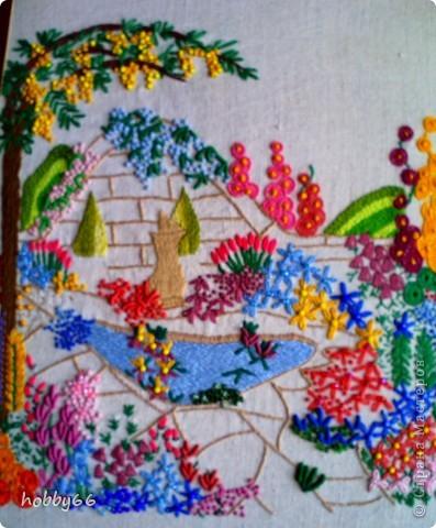 Садик. Учимся вышивать... фото 1