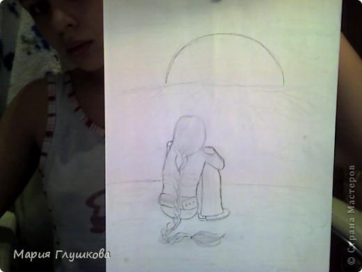Здравствуйте, дорогие Жители Страны Мастеров! Наконец то я додумалась выставить мои многочисленные рисунки) Рисую я с детства, ходила в художественную школу, закончить её не удалось из за переезда в другой город. Теперь учусь по книгам. Это мой любимый рисунок) фото 10