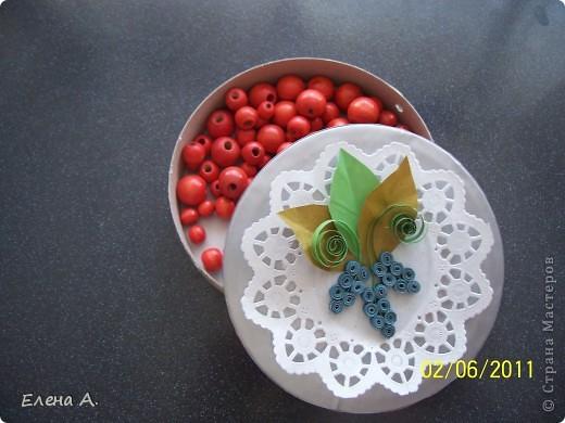 Шкатулочка для бусинок. фото 1