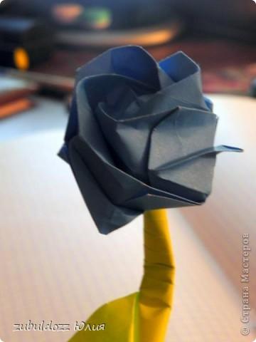 Роза Кавасаки (решила тоже научиться их делать) фото 4