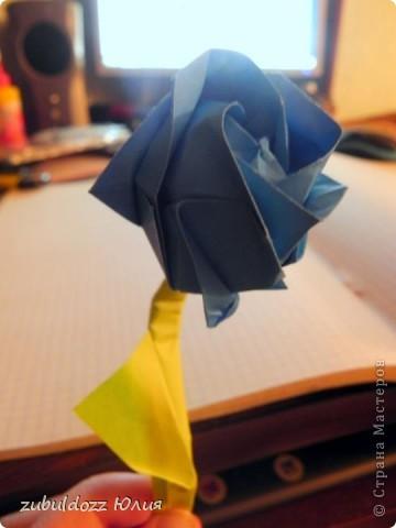 Роза Кавасаки (решила тоже научиться их делать) фото 5