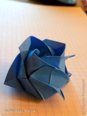 Роза Кавасаки (решила тоже научиться их делать) фото 3