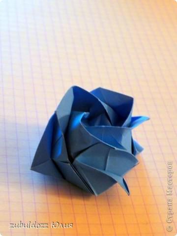Роза Кавасаки (решила тоже научиться их делать) фото 2