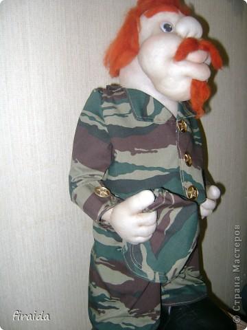 еще не знаю кто это будет: охотник, рыболов или все же военный)))))))) фото 2