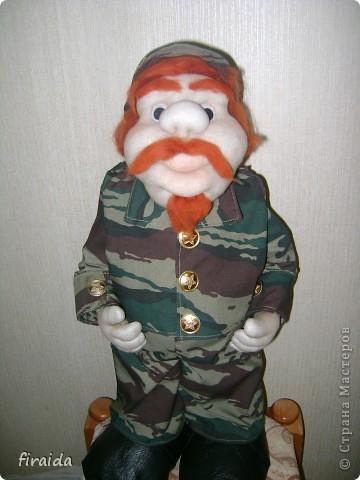 еще не знаю кто это будет: охотник, рыболов или все же военный)))))))) фото 1