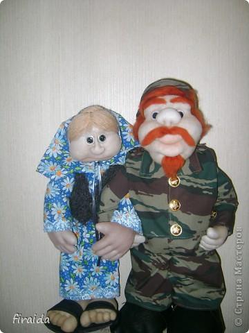 еще не знаю кто это будет: охотник, рыболов или все же военный)))))))) фото 3