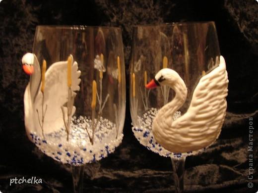 Захотелось тоже слепить пару лебедей. фото 2