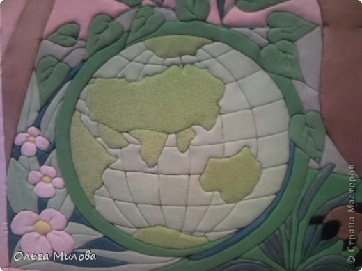 Экология для дошкольников. Пэчворк на пенопласте. Размер 112*52 см фото 7