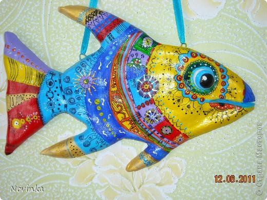 Экзотическая рыбка фото 2