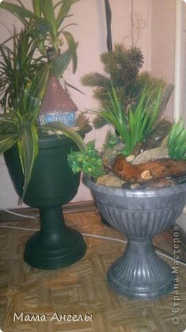Мой первый комнатный фонтан фото 4