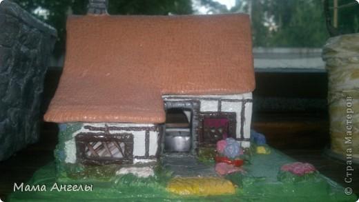Глиняные домики моя страсть! Вот попробывала смастерить своими руками... фото 4