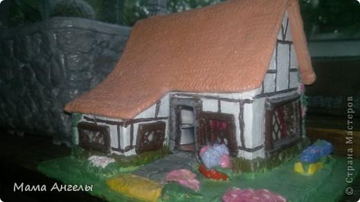 Глиняные домики моя страсть! Вот попробывала смастерить своими руками... фото 5