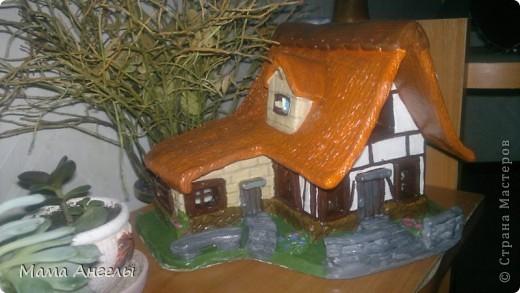 Глиняные домики моя страсть! Вот попробывала смастерить своими руками... фото 7