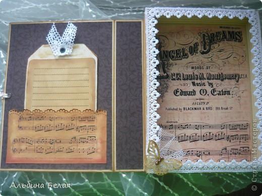 Доброго всем времени суток. Вот такую коробку-книгу решила сделать в подарок. МК можно посмотреть сот здесь http://asyamischenko.blogspot.com/2011/06/blog-post_8971.html фото 4