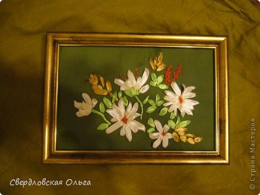 Цветочки из ленточек