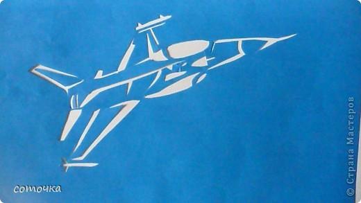 Поделки для мальчиков 23 февраля Вырезание Техника 2 Самолеты Бумага фото 2