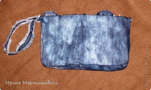 Переделка джинсов в кладч №2 фото 2